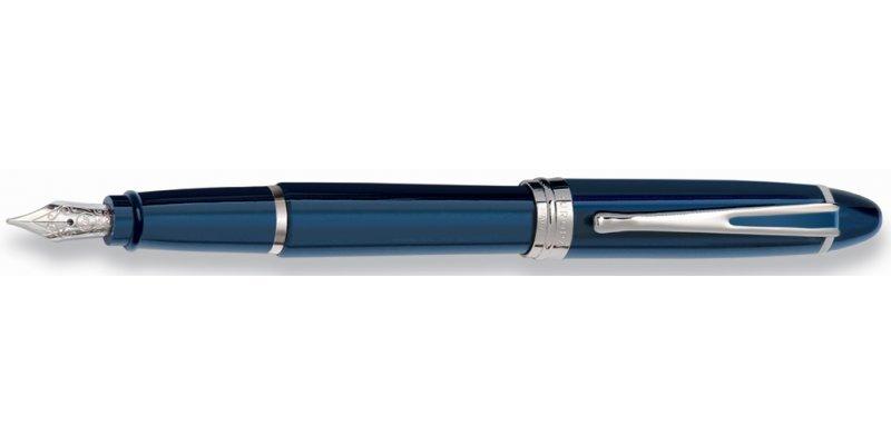 Aurora Ipsilon Deluxe Blue HT fountain pen - Stilografica