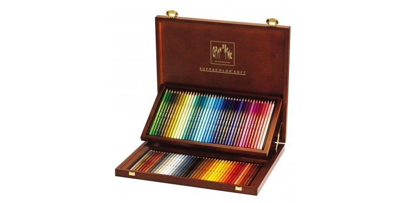 Matite colorate Caran d'Ache - 80 Colori