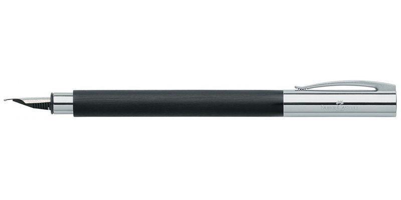 Faber-Castell Ambition Black Resin - Stilografica
