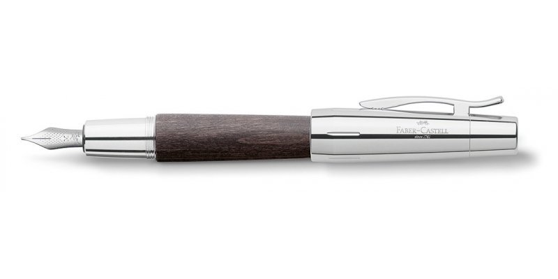 Faber-Castell E-MOTION wood Black - Stilografica