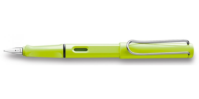 Lamy Safari Neon Lime 2015 - Stilografica