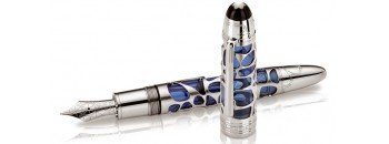 Montblanc Skeleton Blue Hour