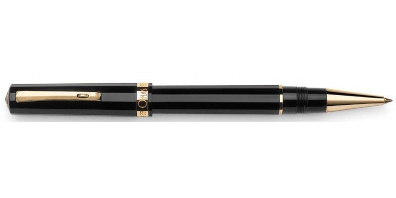 Omas Arte Italiana Milord  Black Gt - Roller
