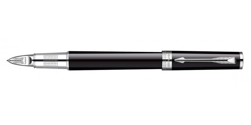 Parker Ingenuity - Lacca nera CT Large  - Penna Stilografica