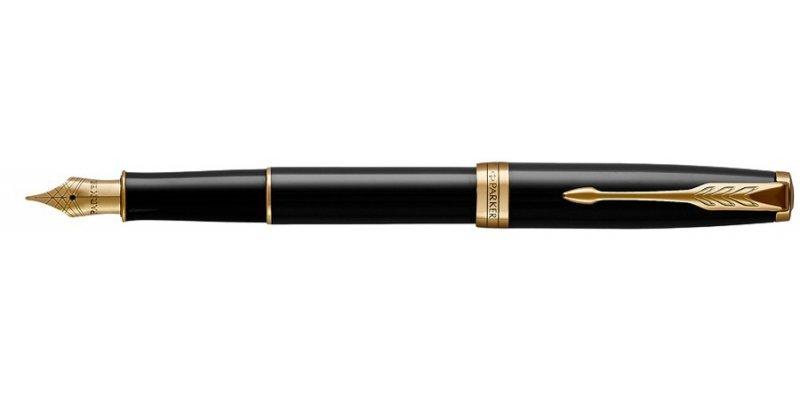 Parker Sonnet Laque Black GT - Stilografica