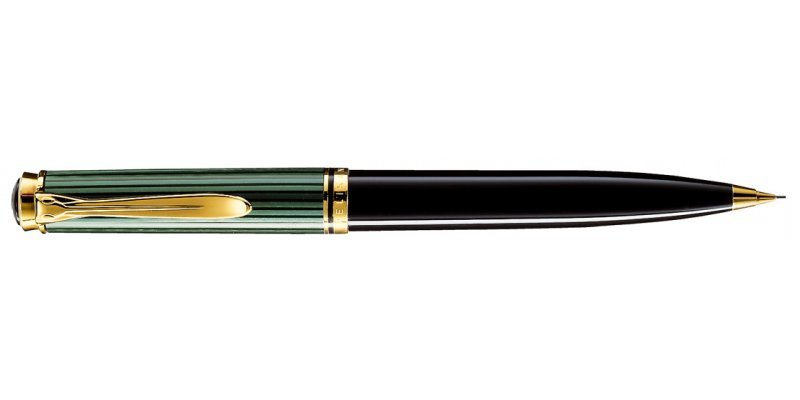 PELIKAN Souverän Serie 600 Green & Black - Matita 0.7