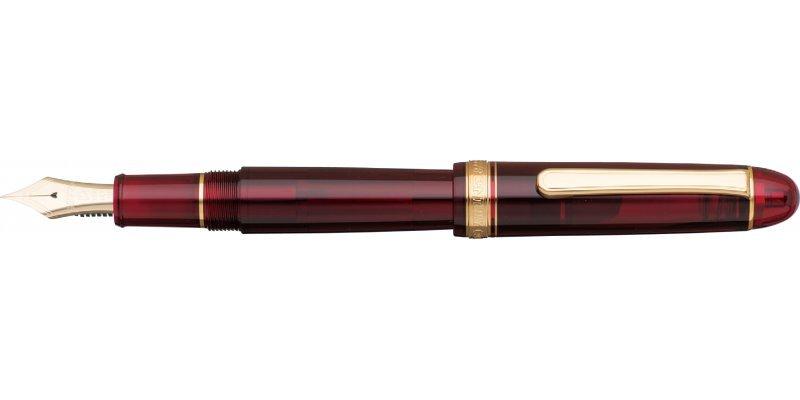 Platinum #3776 Century Stilografica Red