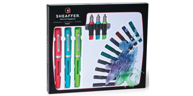 Sheaffer New Calligraphy Maxi Set