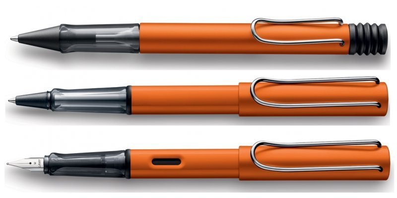 Lamy Safari AL-Star Copper Orange 2015 - Set