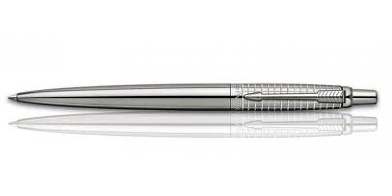 Parker Jotter Premium  Stainless Steel Chiselled - Penna Sfera